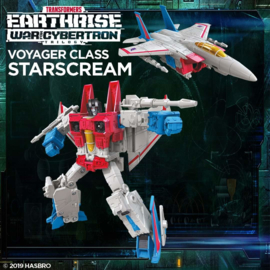 Transformers Earthrise Voyager Starscream - Pre order