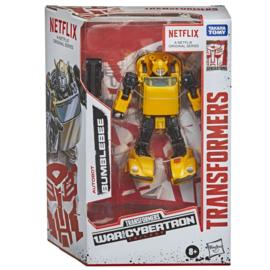 Hasbro Netflix Siege of Cybertron Deluxe Bumblebee