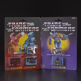 Hasbro G1 Cassettes 3-Pack Gurafi, Noizu & Frenzy [reissue] - Pre order