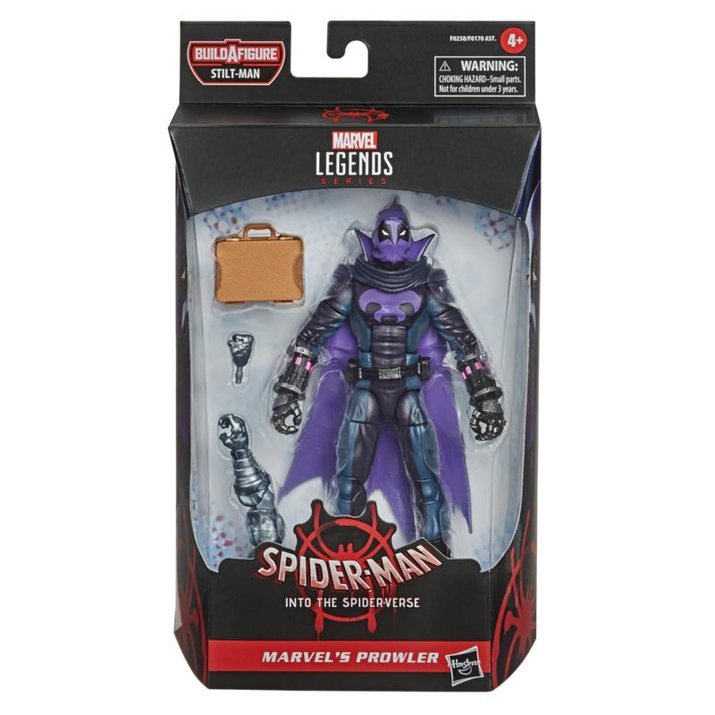 Marvel Legends Series Spider-Man: Into Spider-Verse Marvel's Prowler - Pre order