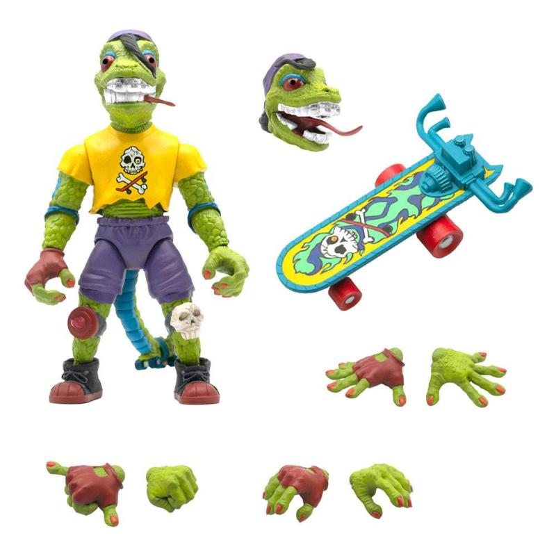Super7 Teenage Mutant Ninja Turtles Ultimates Mondo Gecko - Pre order