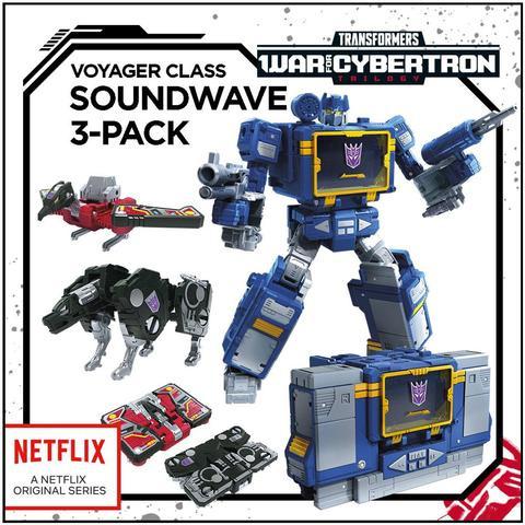 Hasbro Netflix Siege of Cybertron Voyager Soundwave - Pre order