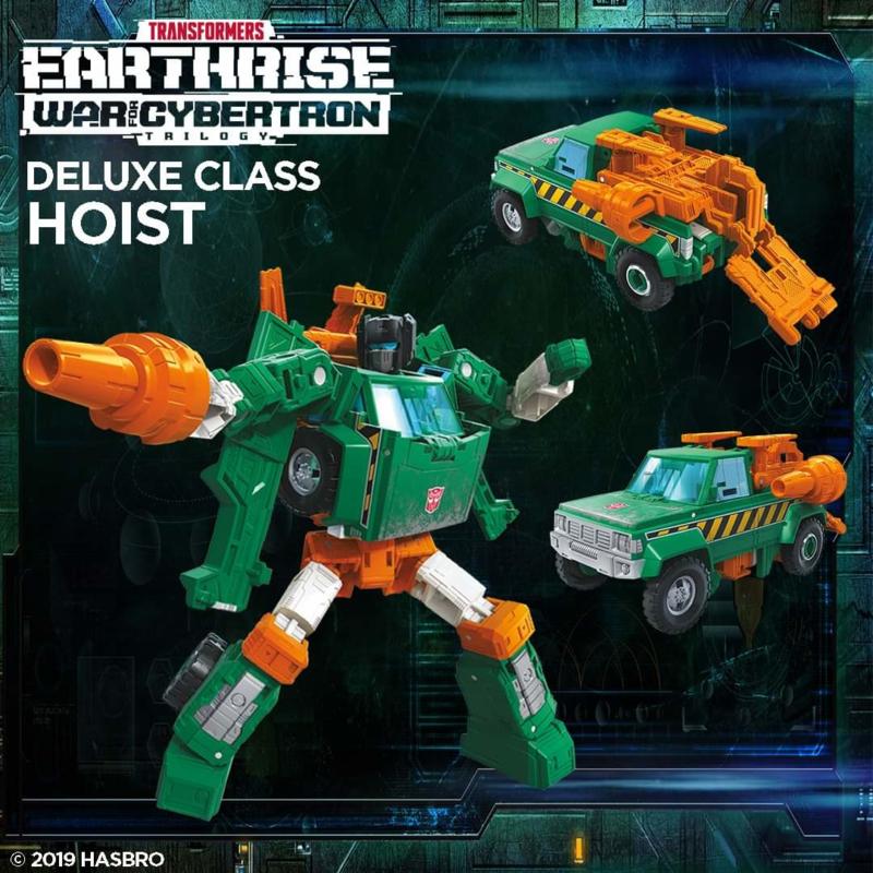 Transformers Earthrise Deluxe Hoist - Pre order
