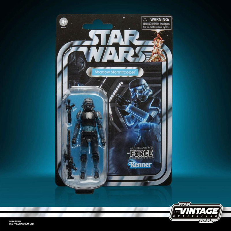 Star Wars Vintage Collection Gaming Greats AF 2021 Shadow Stormtrooper (Force Unleashed) - Pre order