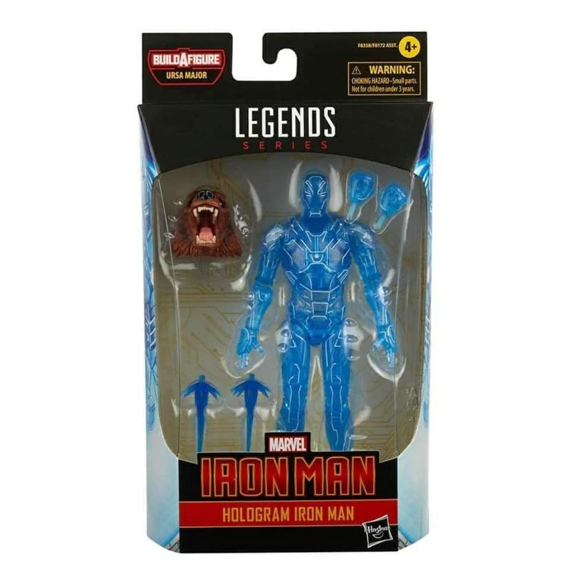 Marvel Legends Comic Series Hologram Iron Man [BAF Ursa Major] - Pre order