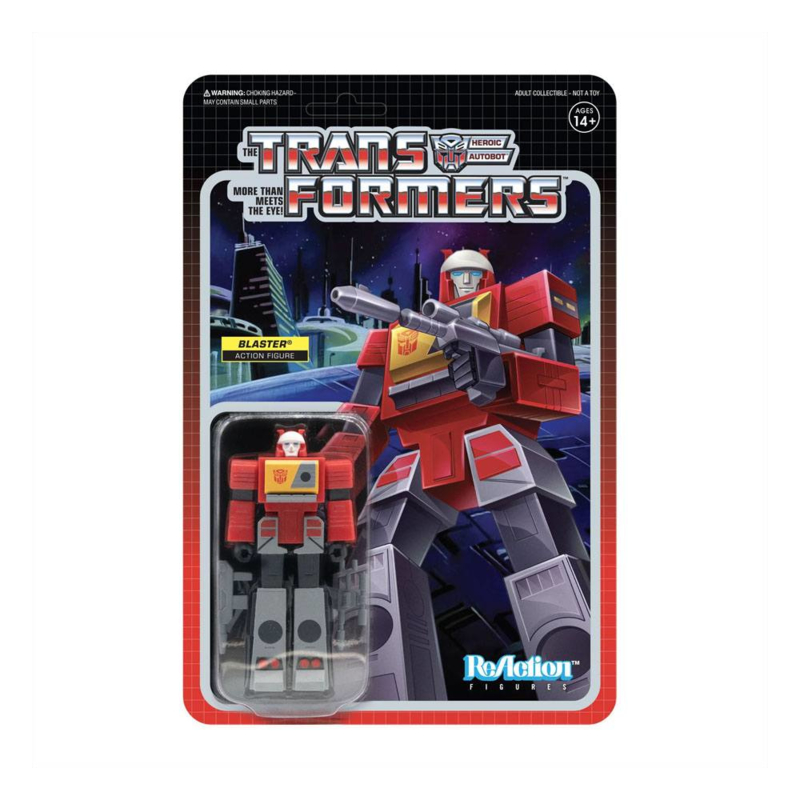 Super7 Transformers ReAction Blaster - Pre order