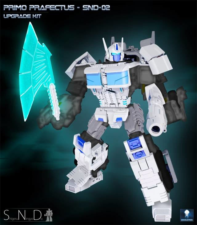 SND-02 Kit for CW White Optimus Prime