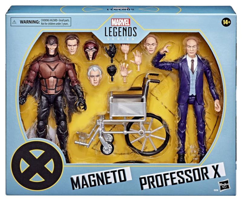 Marvel Legends  X-Men AF 2-Pack 2020 Magneto & Professor X - Pre order