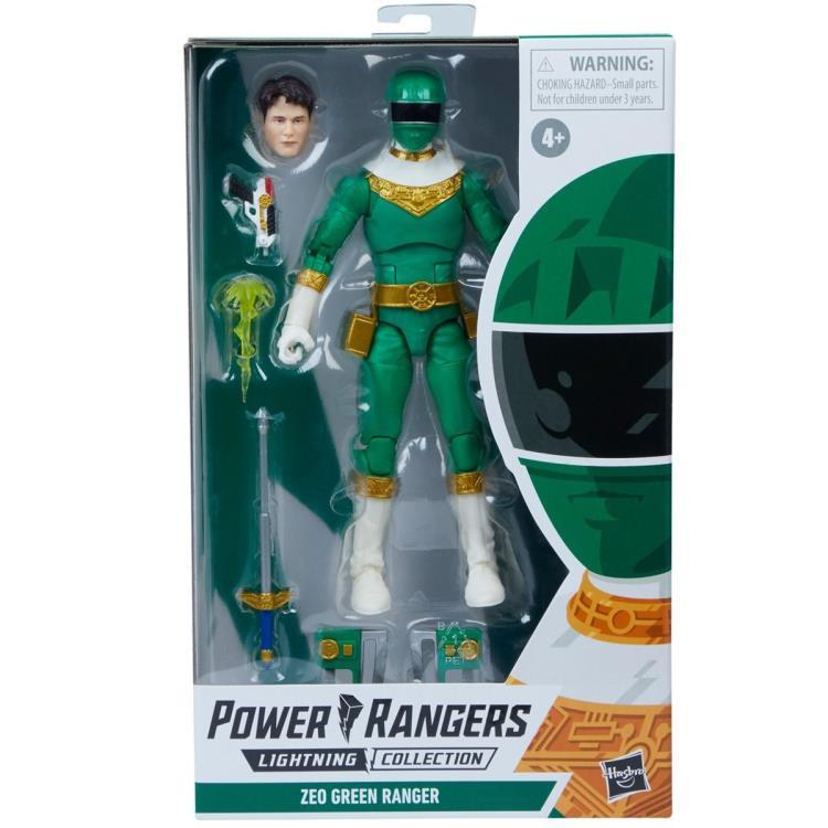 Power Rangers Zeo Green Ranger - Pre order