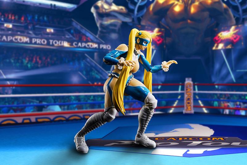 Street Fighter S.H. Figuarts Action Figure Rainbow Mika