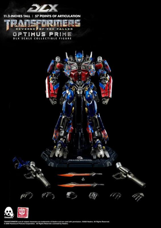 Transformers: Revenge of the Fallen DLX AF 1/6 Optimus Prime - Pre order