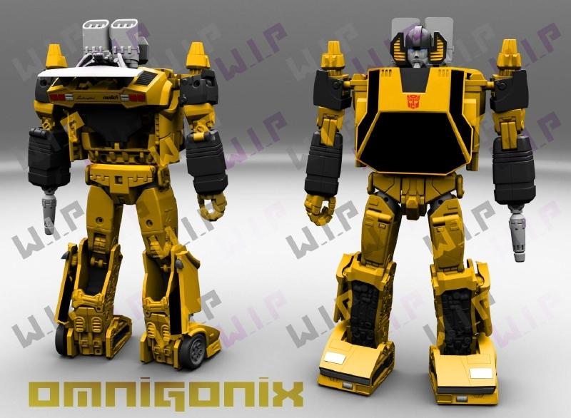 Omnigonix V-01 Spinout (Sunstreaker)