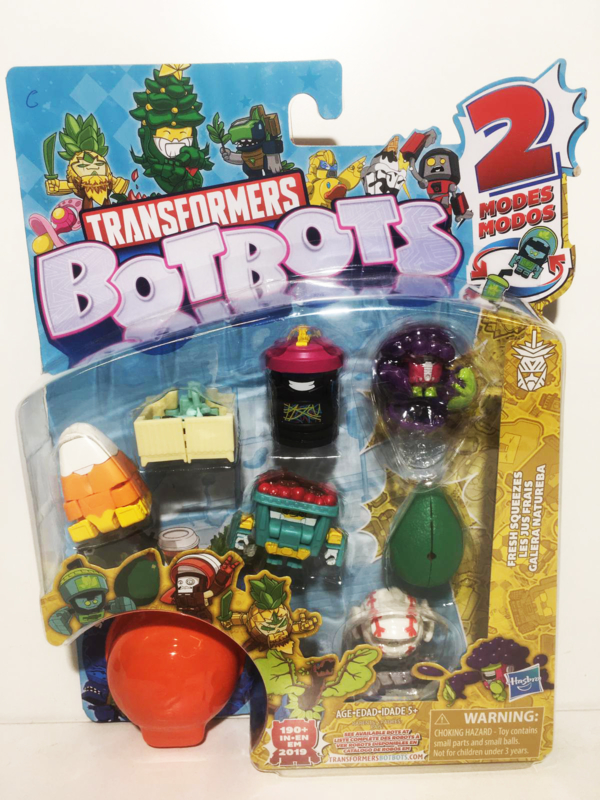 Hasbro BotBots  8-Packs Fresh Squeezes C