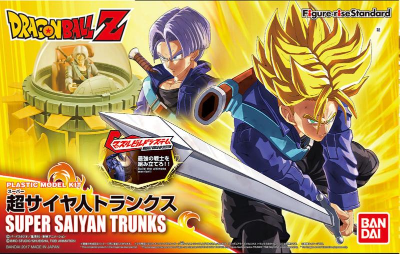 Figure-rise Dragon Ball Z Super Saiyan Trunks