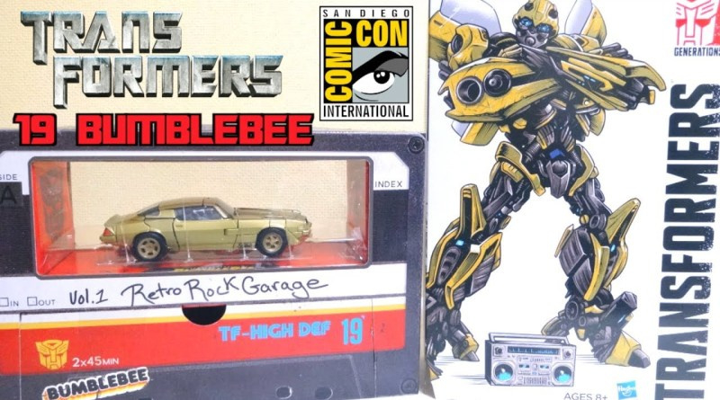 Hasbro SS-19 SDCC Bumblebee Vol. 1 Retro Rock Garage