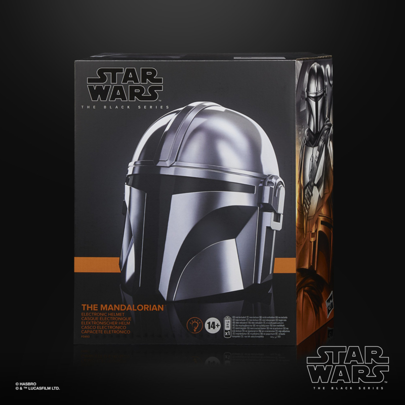 Star Wars Black Series Mandalorian Electronic Helmet - Pre order