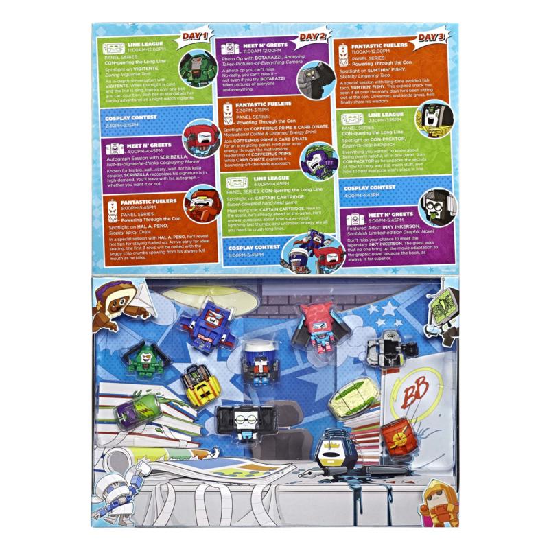 Hasbro Botbots SDCC 2019 [Set of 10]