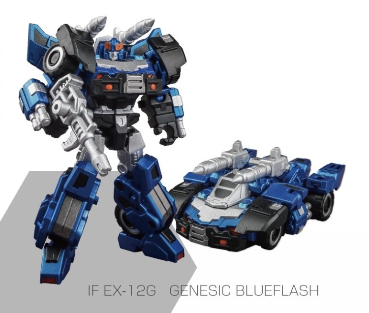 Iron Factory IF-EX12G Genesic Blueflash