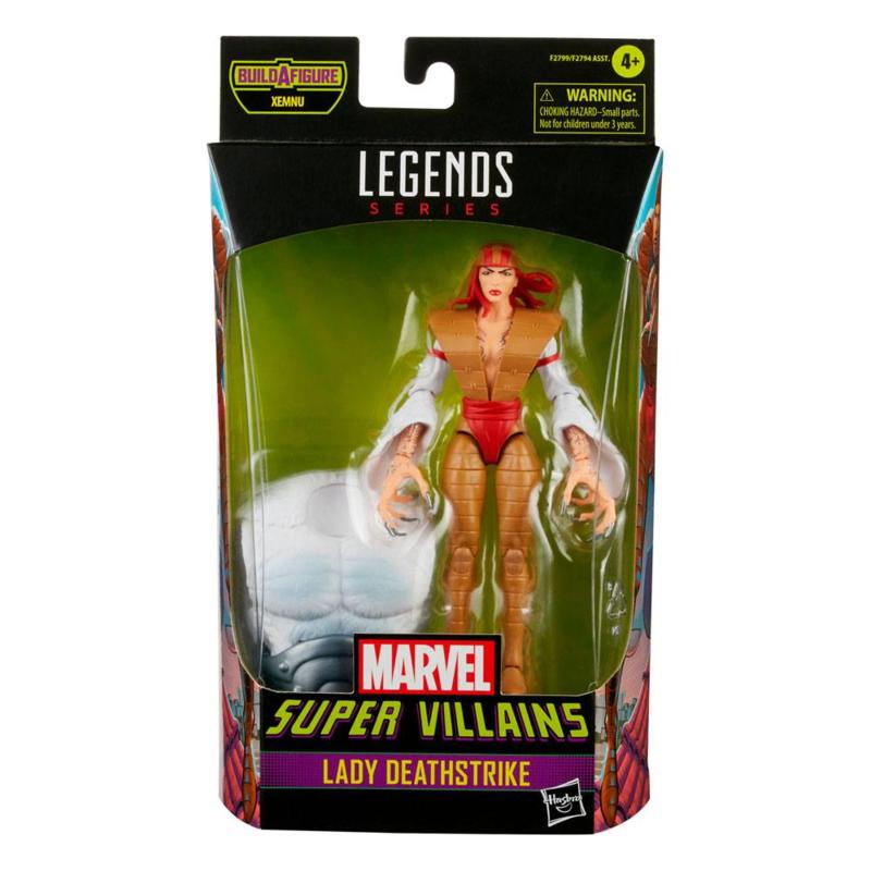 Marvel Legends Super Villians Lady Deathstrike - Pre order