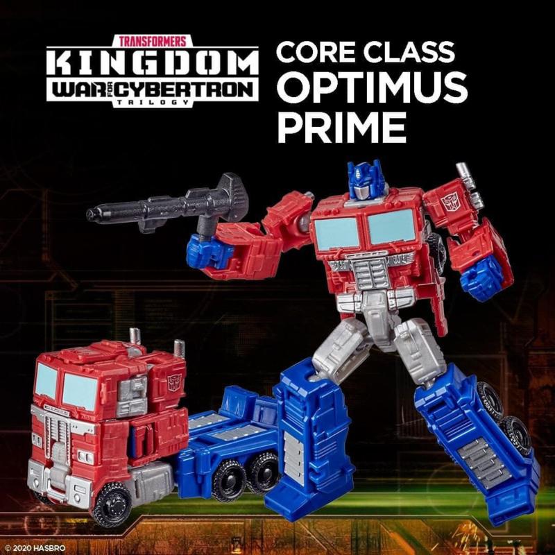 Hasbro WFC Kingdom Core Optimus Prime - Pre order