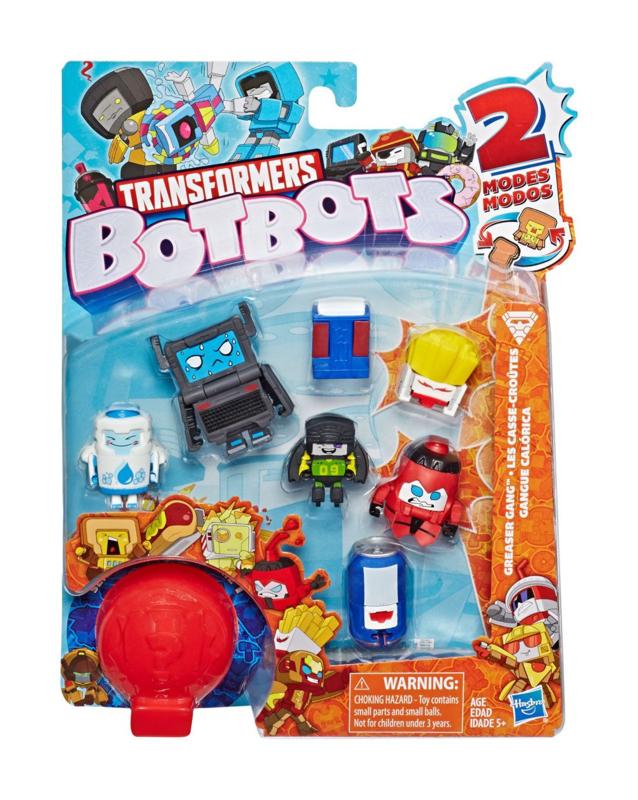 Hasbro BotBots Mini Figures 8-Packs Greaser Gang D