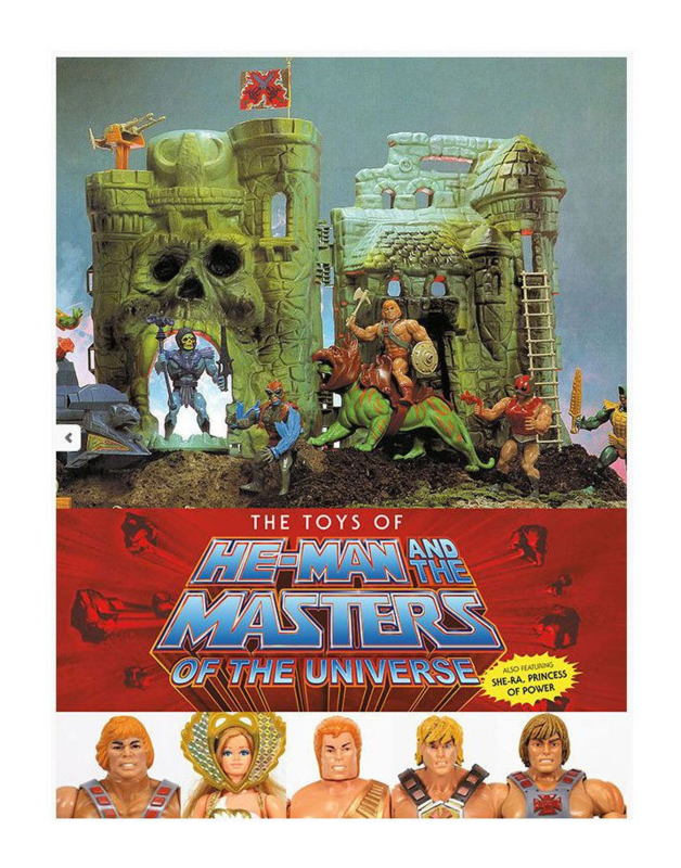 Masters of the Universe Art Book The Toys of He-Man [English Ver.] - Pre order