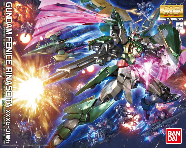 1/100 MG XXXG-01 Wfr Gundam Fenice Rinascita