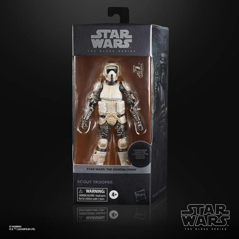 Star Wars Black Series AF Scout Trooper Carbonized [Import stock]