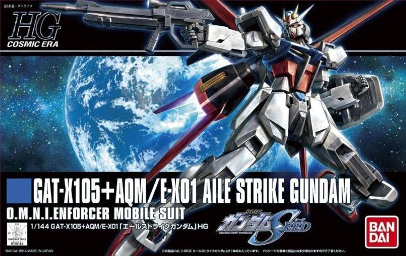 1/144 HGCE GAT-X105+AQM/E-X01 Aile Strike Gundam