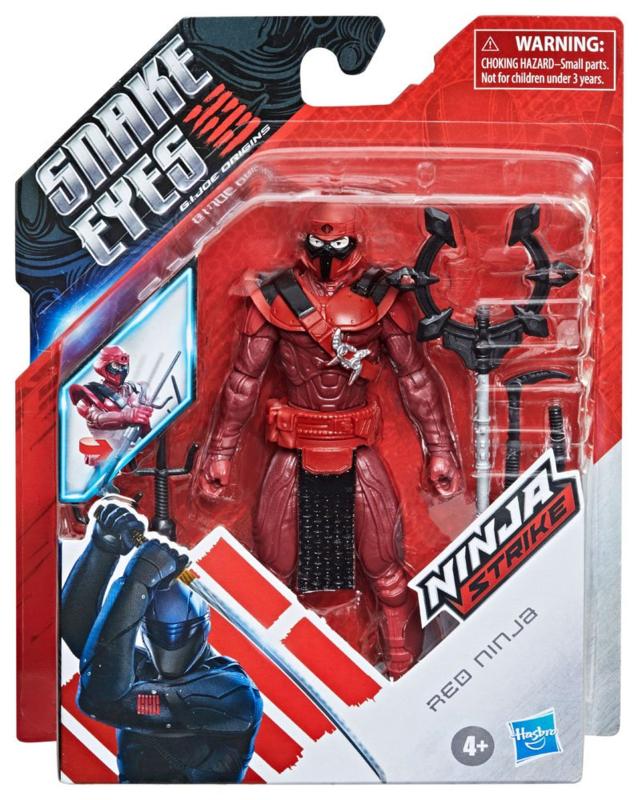 Snake Eyes: G.I. Joe Origins AF Red Ninja - Pre order