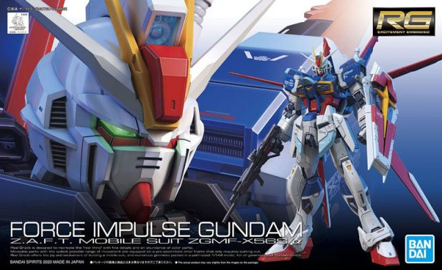 1/144 RG ZGMF-X56S/α Force Impulse Gundam