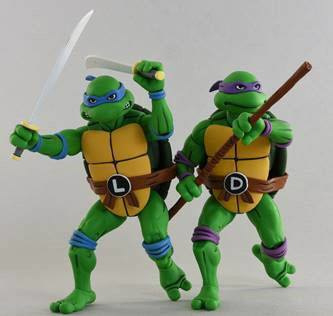 Neca Teenage Mutant Ninja Turtles 2-Pack Leonardo & Donatello  - Pre order
