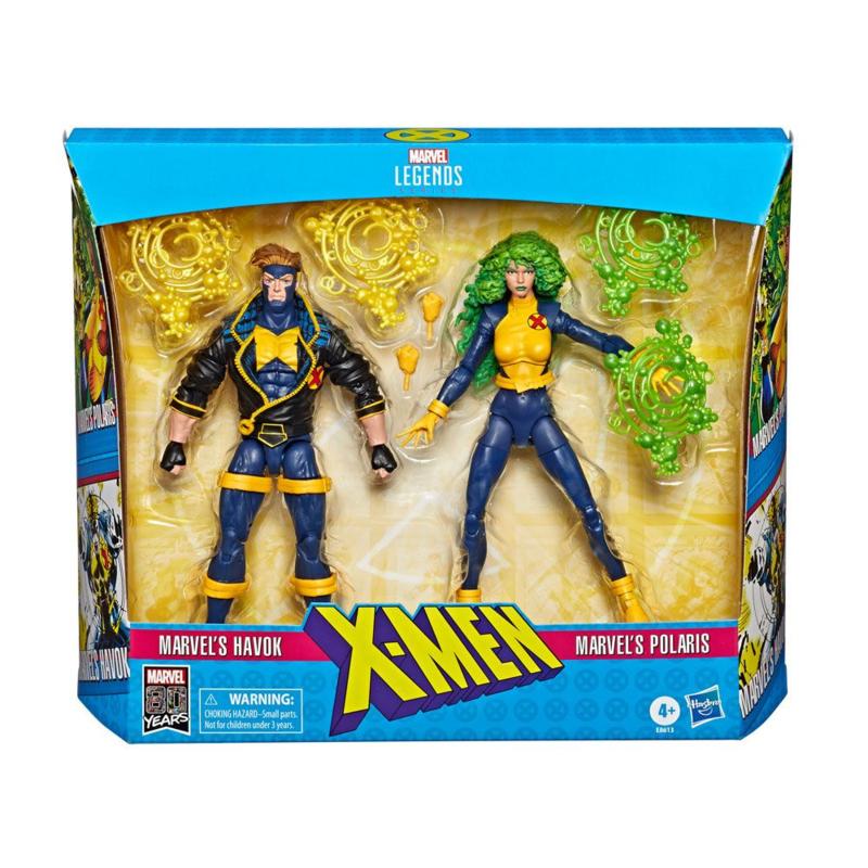Marvel Legends 80th Ann. 2-Pack X-Men Havok & Polaris - Pre order