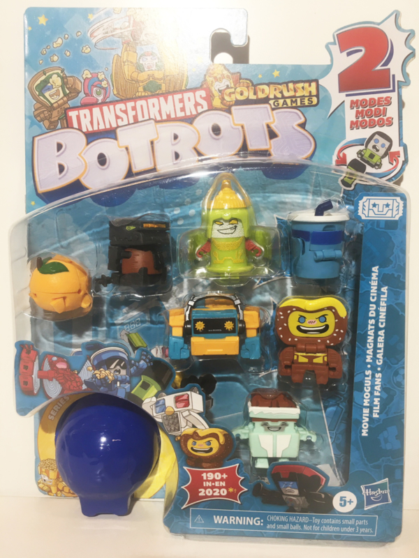 Hasbro BotBots  8-Packs Movie Moguls  B