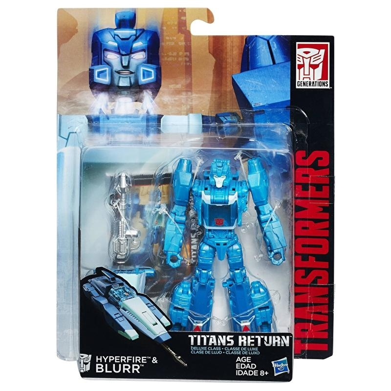 Titans Return Deluxe Blurr