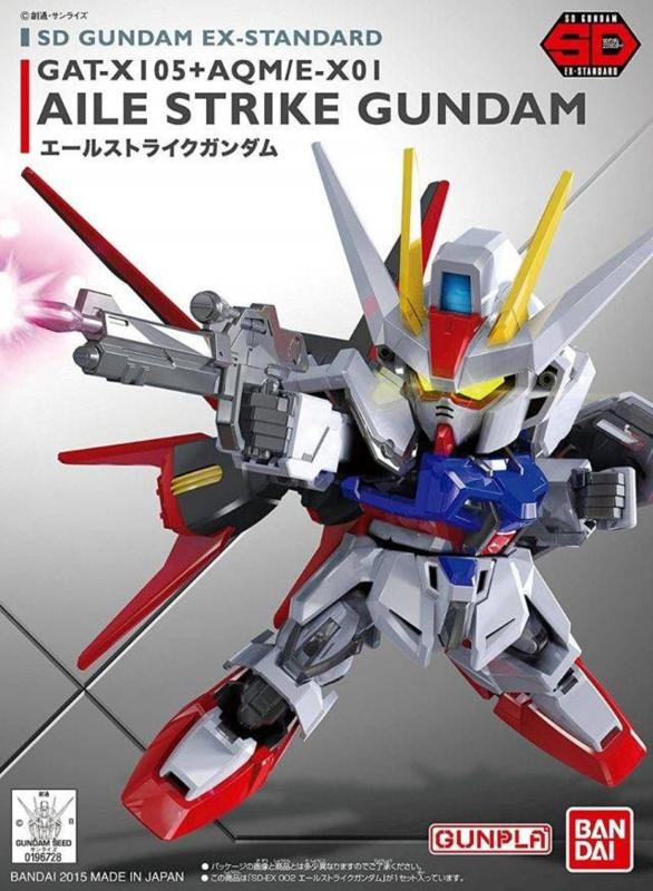 SD Ex-Std: GAT-X105+AQM/E-X01 Aile Strike