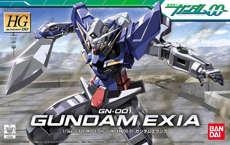 1/144 HG00 GN-001 Gundam Exia