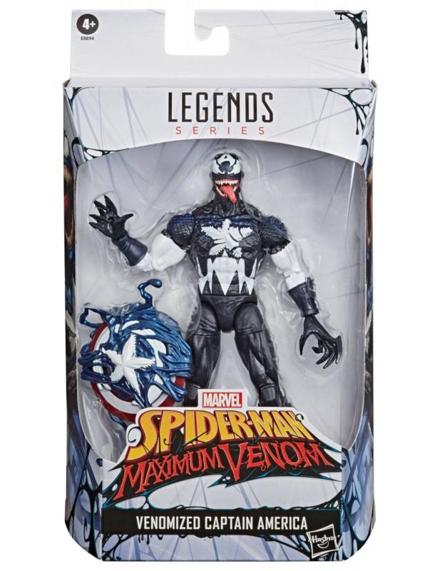 Marvel Legends Venomized Captain America