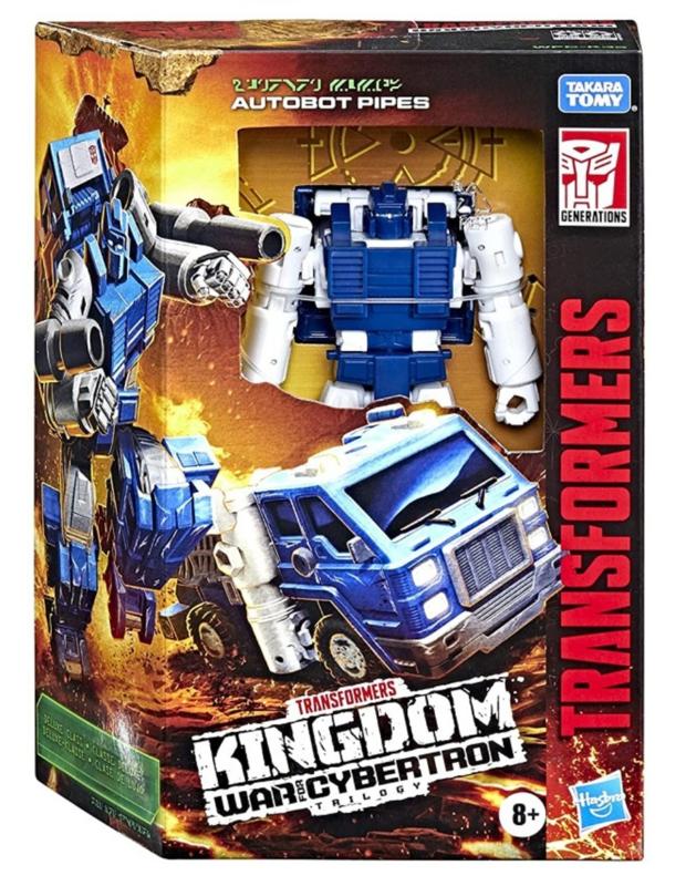 Hasbro WFC Kingdom Deluxe Pipes - Pre order