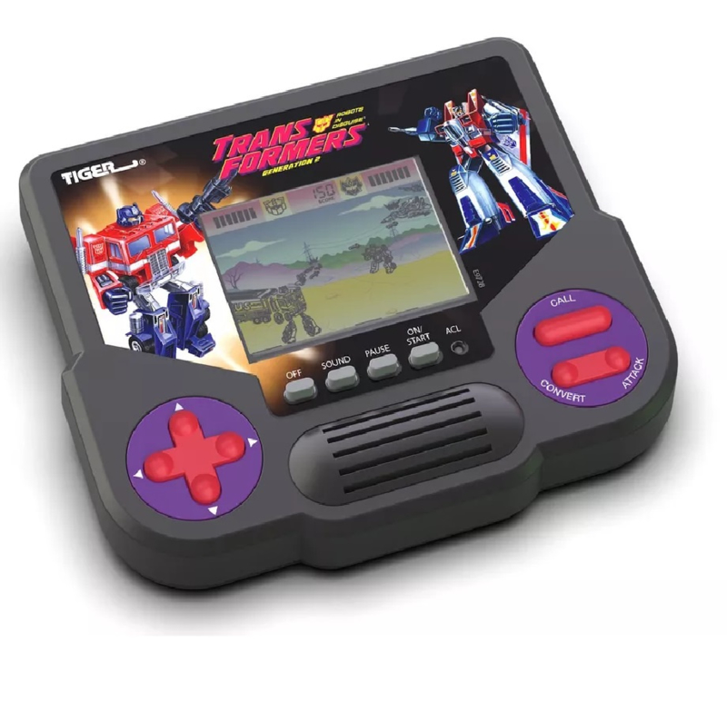 Tiger Electronic Game Transformers Generation 2 - Pre order