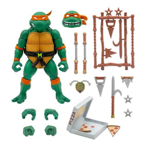 Super7 Teenage Mutant Ninja Turtles Ultimates Michaelangelo - Pre order