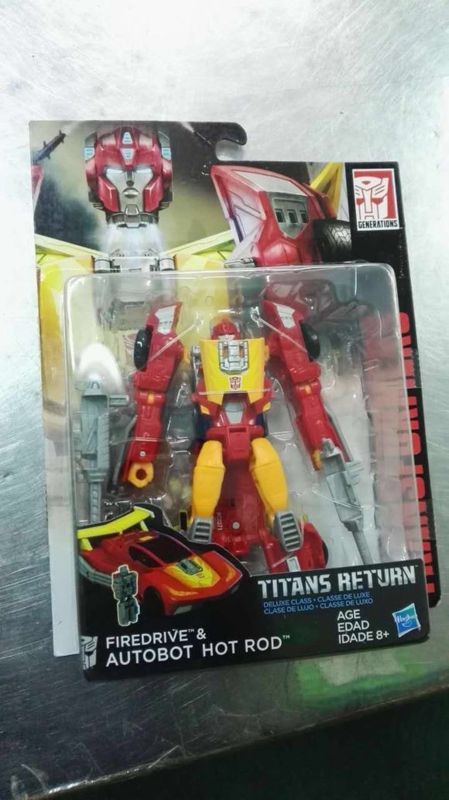Titans Return Deluxe Wave 3 Hot Rod