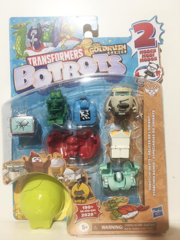 Hasbro BotBots  8-Packs Hibotchi Heats Flyers B