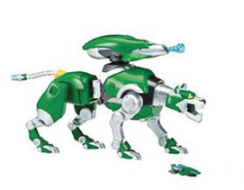 Playmates Voltron Intelli-Tronic Green Lion