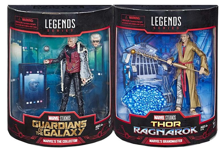 Marvel Legends Grandmaster & Collector [SDCC 2019]