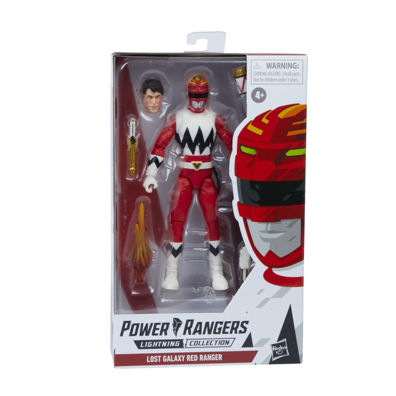 Power Rangers Lost Galaxy Red Ranger - Pre order