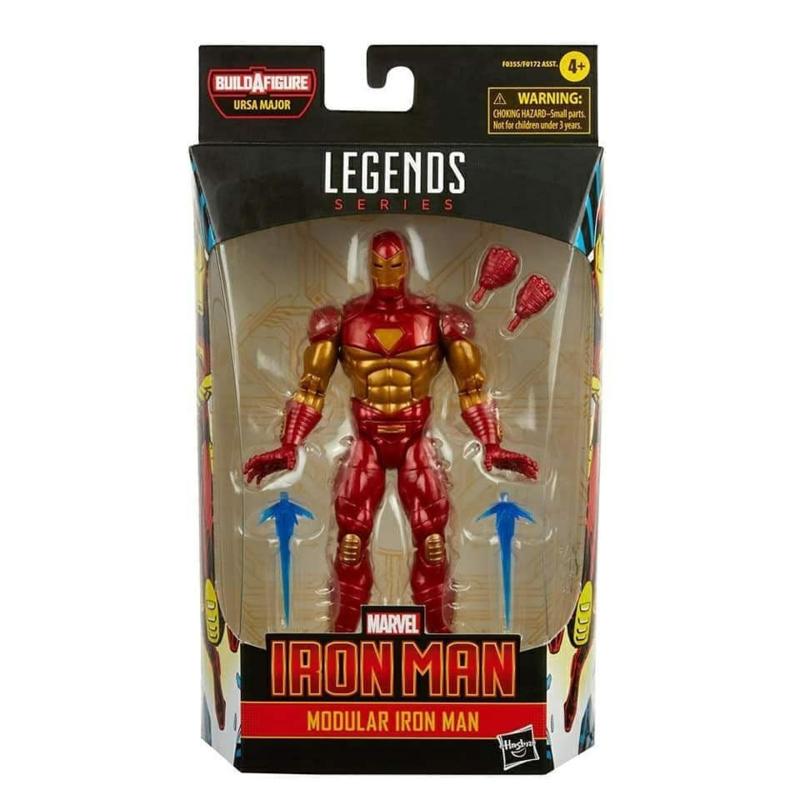 Marvel Legends Comic Series Modular Iron Man [BAF Ursa Major] - Pre order