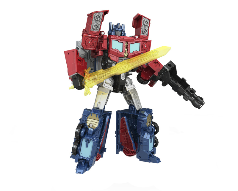 Titans Return Wave 3 Voyager Optimus Prime