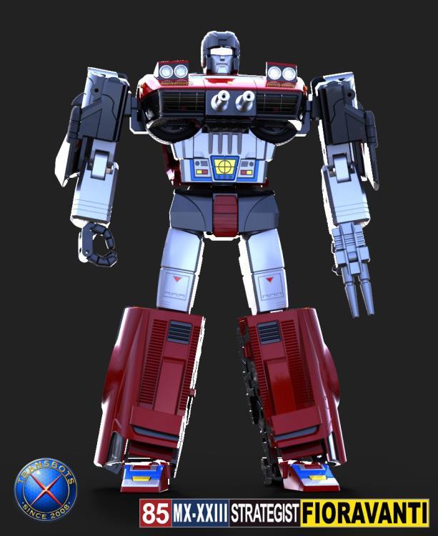 X-Transbots MX-23 Fioravanti - Pre order