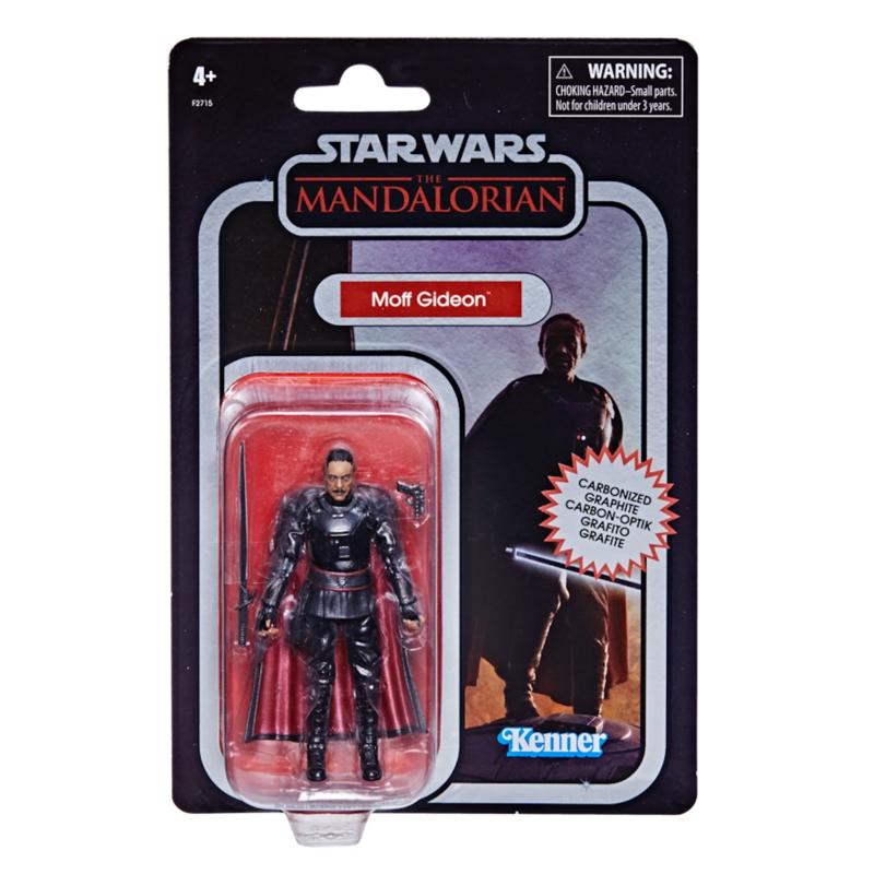 Star Wars VIntage Collection AF Moff Gideon Carbonized [Import stock]